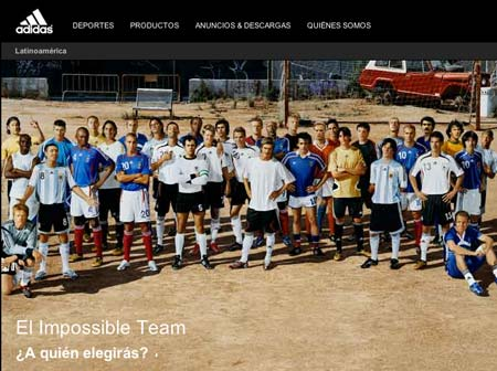 Disipar Parecer impaciente  Impossible is Nothing: ADIDAS, el Equipo Imposible - luisMARAM