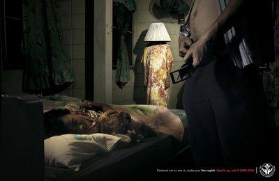 Publicidades contra la Pedofilia