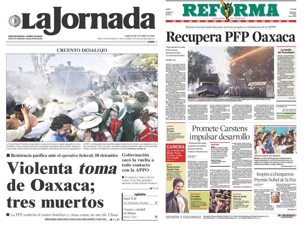 diarios de oaxaca: