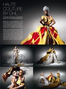 DHL BTL Semana de la Moda