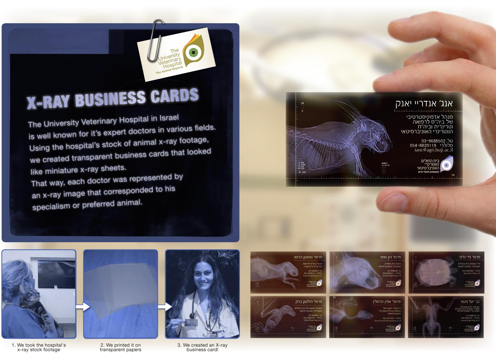 Creative Business Card for Hospital