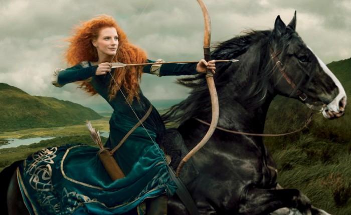 Fantásticas fotografías de Annie Leibovitz para Disney