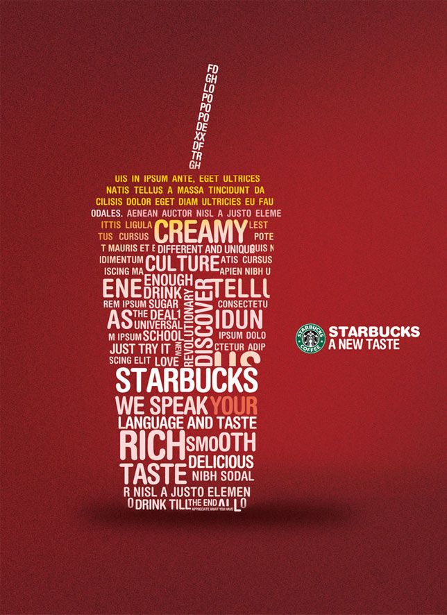 Graphic Starbucks Joy Studio Design Gallery Best Design