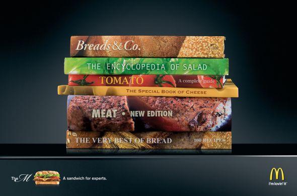 Publicidad de hamburguesas
