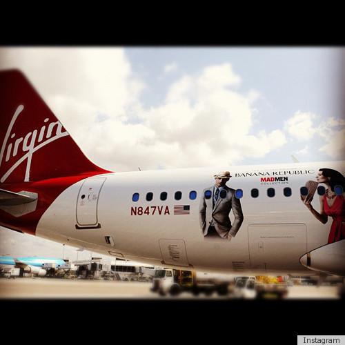 Banana Republic Mad Men Airplane