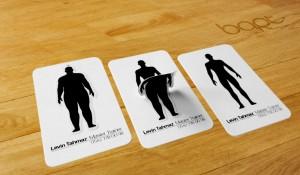 Buen diseño de una tarjeta de presentación