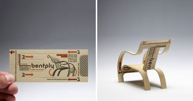 Business Card Chair