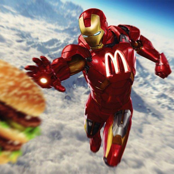 Superheroes con marcas 12