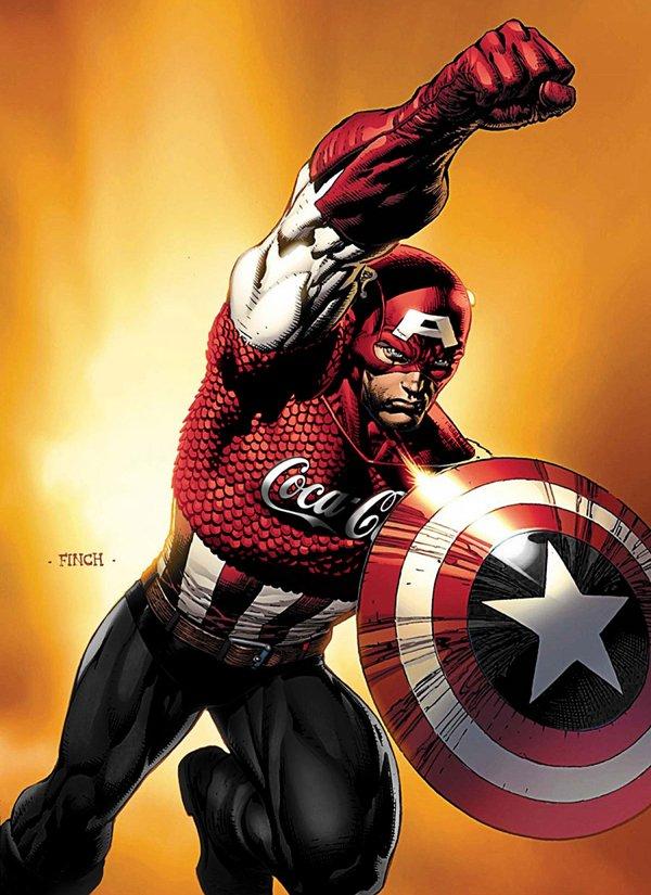 Superheroes con marcas 5