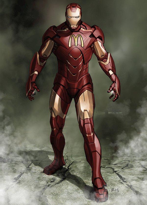 Superheroes con marcas 8