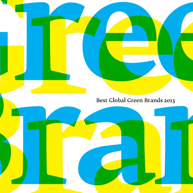 Las 50 marcas más verdes del mundo 2013