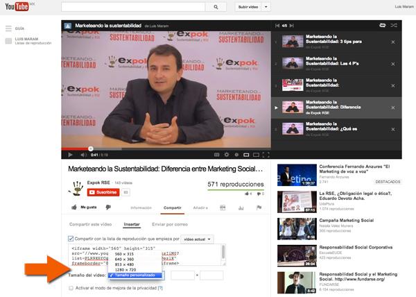 Como insertar videos