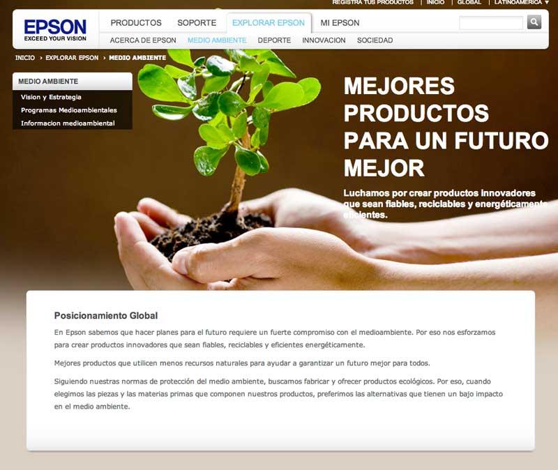 Epson Medio ambiente