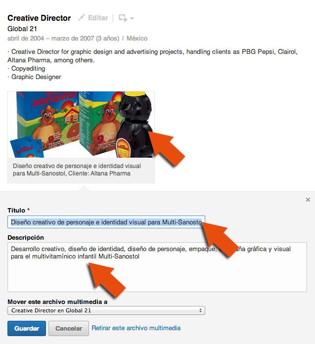 Como Subir Mi Portafolio De Diseno Grafico A Linkedin Luismaram
