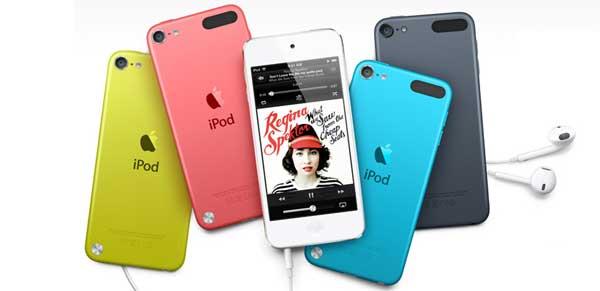 iPods de colores