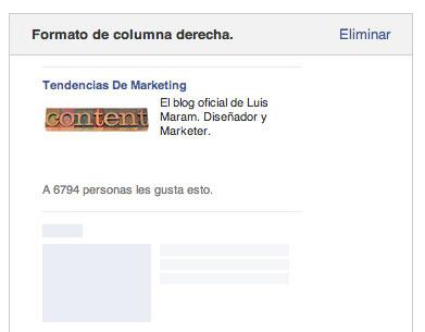 Anuncio de Facebook