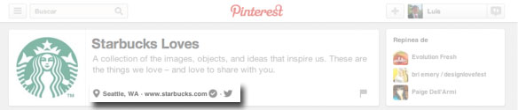 Pinterest y Twitter