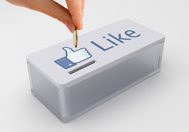 alcancía de Facebook