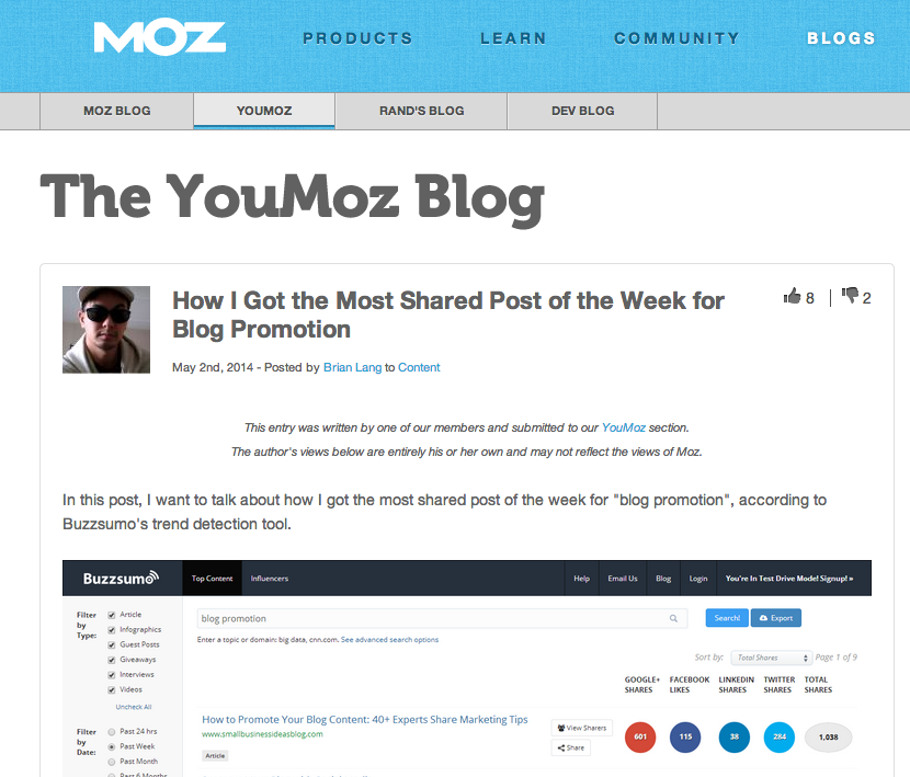 Moz Blogs