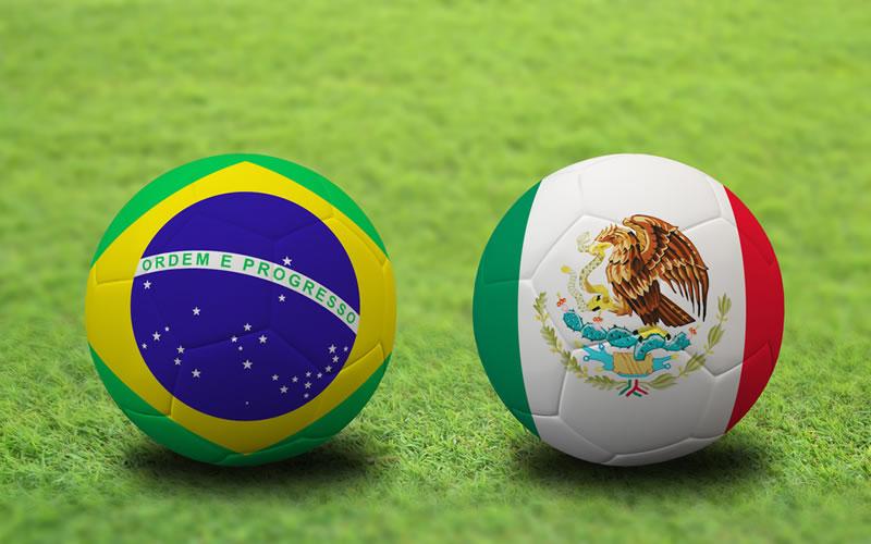 El contenido más socializado del Brasil-México