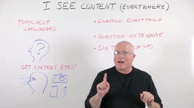 Cómo crear contenido siempre