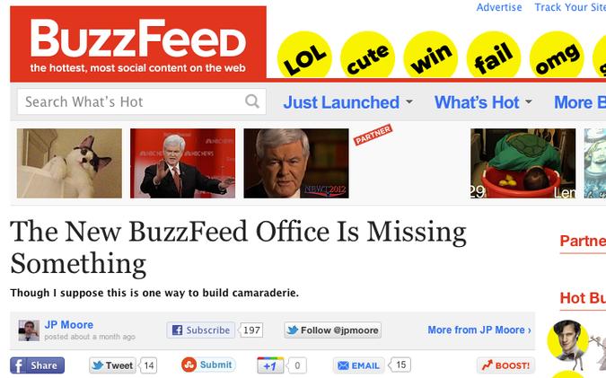 Portal BuzzFeed