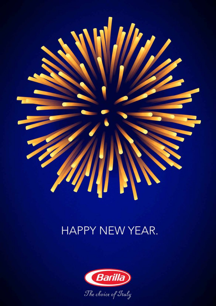Anuncio de Barilla Año Nuevo