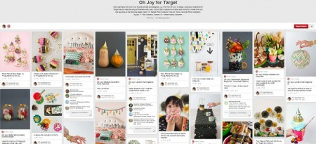 Oh Joy for Target board