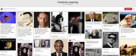 Celebrity-passing