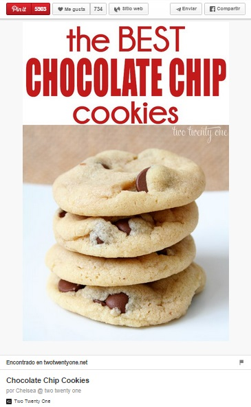 Chocolate Chip Cookies vertical pin