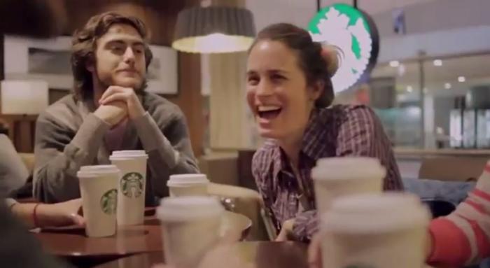 Meet me at Starbucks, engagement marketing puro