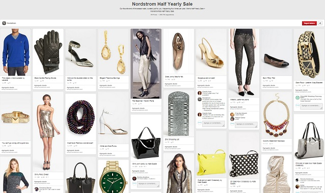 Nordstrom Half Yearly Sale Tablero