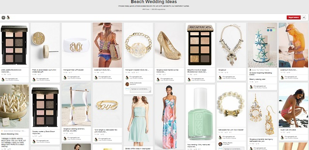 Tablero Beach Wedding Ideas