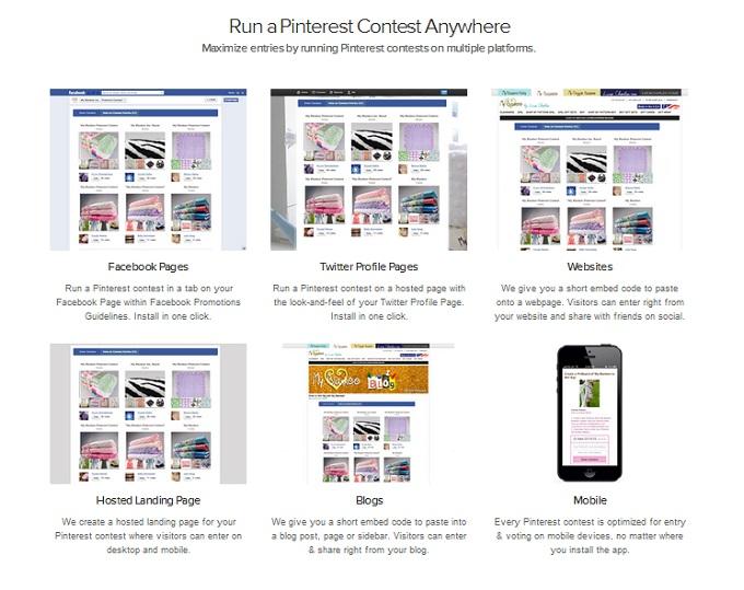 Wishpond Pinterest Contest