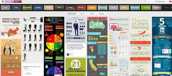 Busqueda Guiada Infographic Business