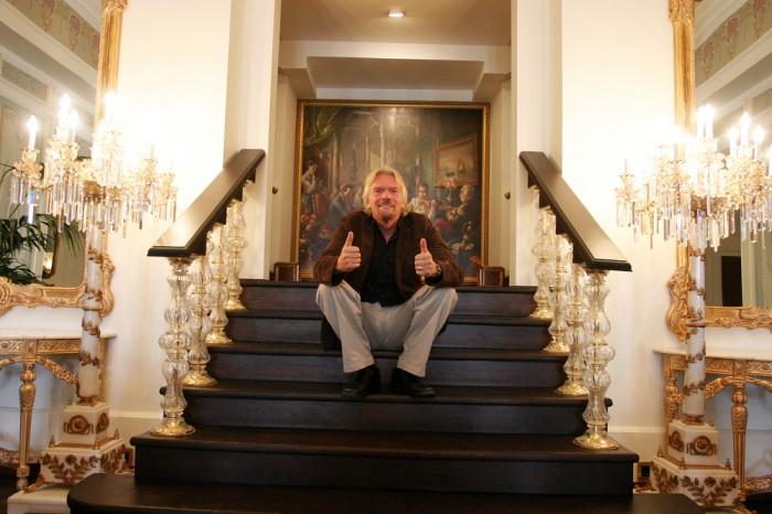 El secreto de Richard Branson para el éxito