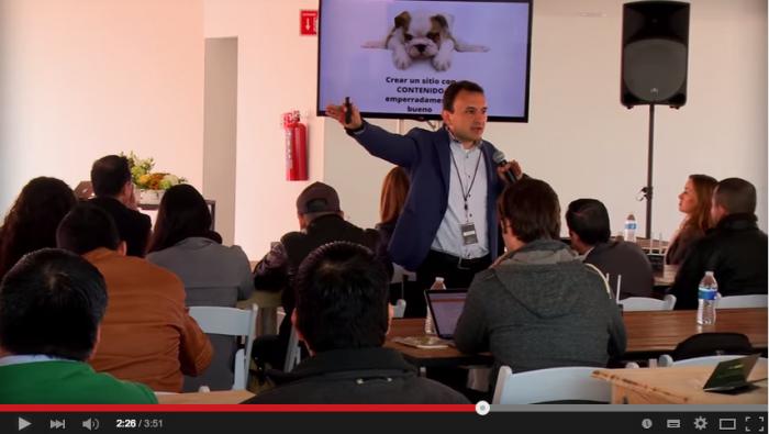 Insights de la conferencia Marketing de contenidos