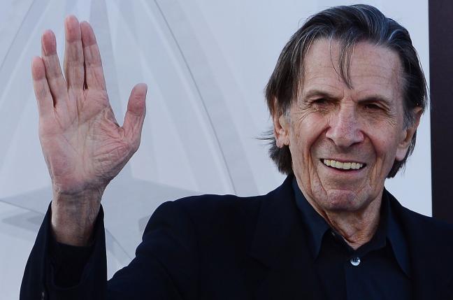 El conmovedor último tuit de Leonard Nimoy, el Sr Spock