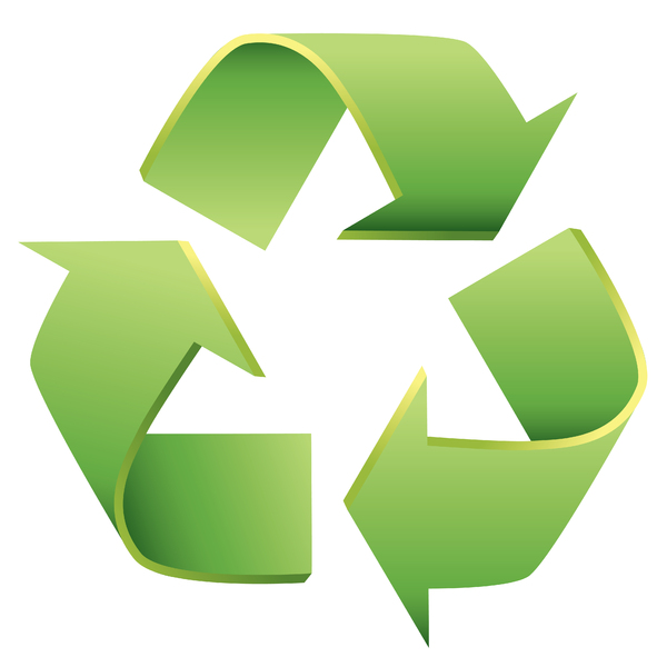 Qué significan las tres flechas del reciclaje