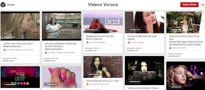 Tablero-Videos-Vorana