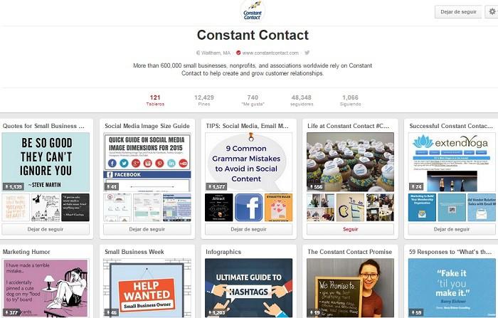 ConstantContact-cuenta-en-Pinterest