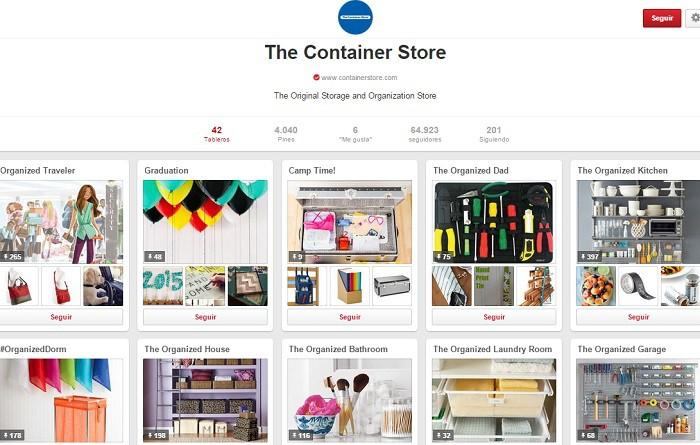 Cuenta-en-Pinterest-TheContainerStore