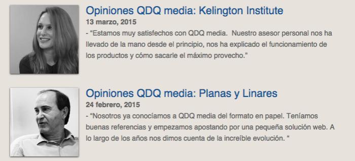 Opiniones QDQ media