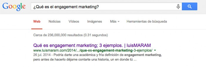 Buscar engagement marketing