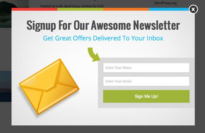 Recabar correos para contenido