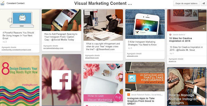 Tablero-sobre-marketing-visual