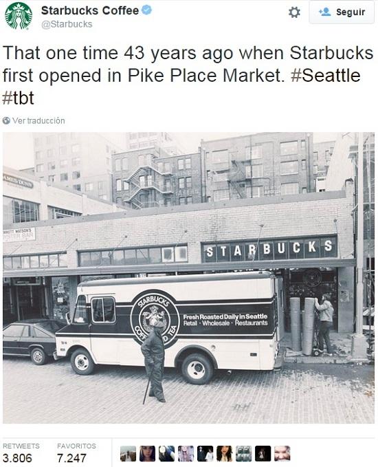 Ejemplo-ThrowbackThursday-Starbucks-en-Twitter