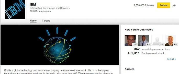 IBM-en-LinkedIn