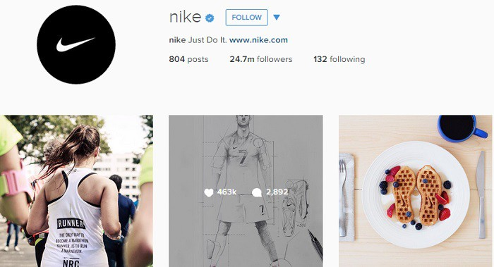 Nike-en-Instagram