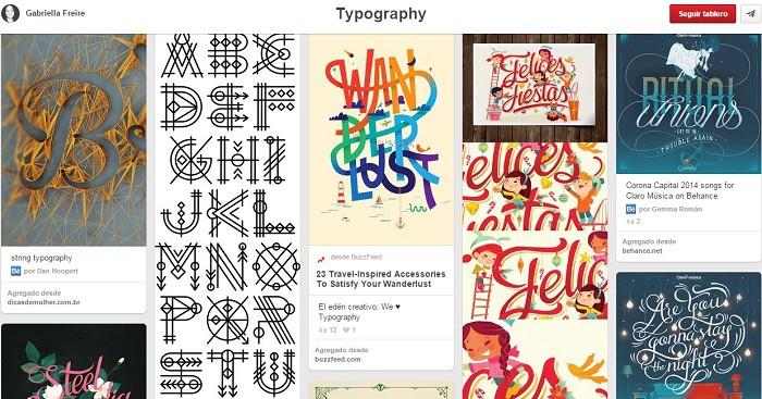 Tablero-Typography-de-Gabriella-Freire